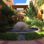 The hotel wing at the Barcelo Maya Palace Deluxe