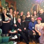 The Cast of the Murder Mystery at Squires Manor