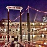 The Delta King by night