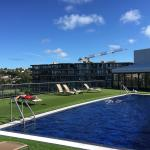 Rooftop pool is a highlight of the Vibe Rushcutters.