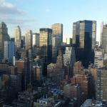 View from room 3603 at Affinia Dumont NYC