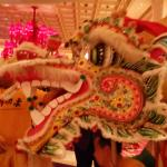 Dragon at Chinese New Year Celebration