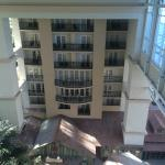 View from the 10 floor suite facing the Atrium