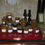 Different kinds of homemade jams