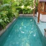 Our villa's pool