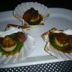 The Scallops which tasted beautiful...