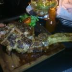 The Famous 1kg Beef Steak...tasted beautiful