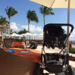 Not exactly a great view with this stroller setting the scene.