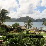 Grande St. Lucian - view from lobby