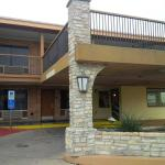 Entrance of Days Inn San Antonio