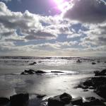 Beach walk to Charmouth, just around the cove from Cleveland