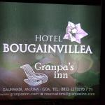 Photo de Hotel Bougainvillea - Granpa's Inn