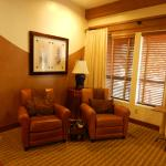 sitting area in room 601