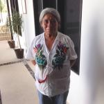 Hotel Casa Ticul - one of the sweet cleaning ladies ��