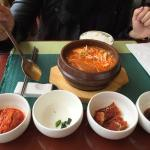 breakfast korean style , you can choose western style as well