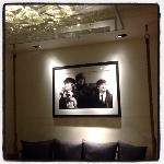 beatles in the lobby