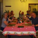 Our Evening Meal at Vila Toparceanu