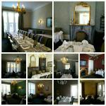 Different dining rooms