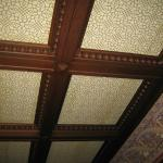 Architectural detail in the ceiling
