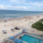 Beach from Oceanfront Balcony 6th. floor