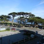 view of lovers point from third floor