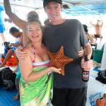 Starfish on the reef tour - yes it was put back into the ocean