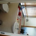 The smaller of two bathrooms (incl shower)