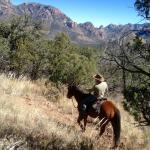 Riding in the Chiricahua Mountains