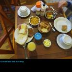 Our breakfast one morning