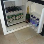 Fridge full and cold