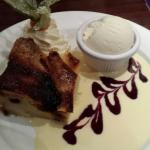 Peter's bread and butter pudding