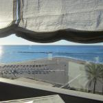 View from the restaurant and breakfast