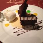 Piano dessert at Da Vincis not only looks good but taste great