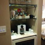 Spa Suite Nespresso Machine!!!