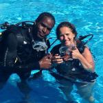 My Dive Master Anthony Reid