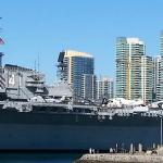 Downtown SD an SS Midway