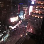 Night view from the suite!
