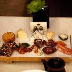 late night in room service: cheese & meat platter