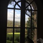 A room with a view for breakfast from Cloisters