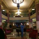Lobby of this beautiful hotel
