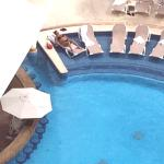 Veiw of pool bar from our balcony