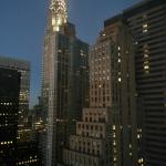 View of the Chrysler Building from suite.