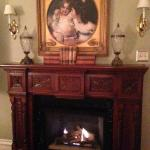 room fireplace