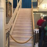 The staircase in Graceland