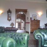 One of the main rooms. With log burner. Very comfortable.