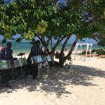 Steel drum band a lunch grill