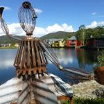 Quirky sculptures abound in the surroundings of the Resort