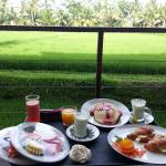 Awesome breakfast with awesome view
