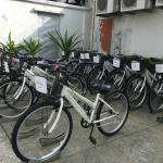 Bicycle facility for guest