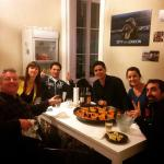 Paella with new friends :)